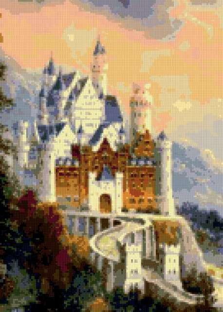 Замок, старинный замок