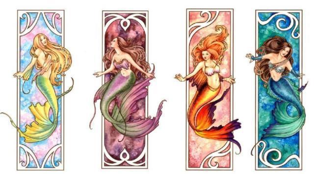 Четыре русалки, фэнтези