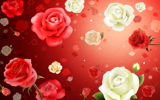 "Подушка ""дождь из роз"", розы,"