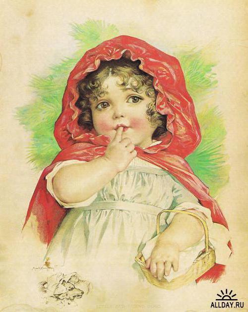 Красная шапочка, дети, ребенок