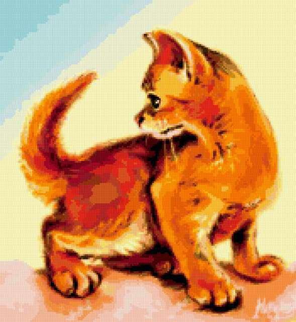 Апельсиновый кот 2