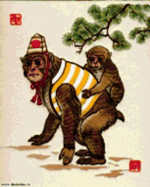 Год обезьяны, предпросмотр
