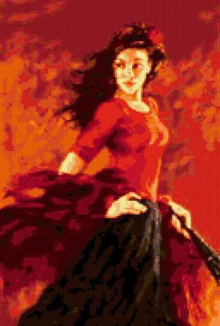 Огонь Фламенко, предпросмотр