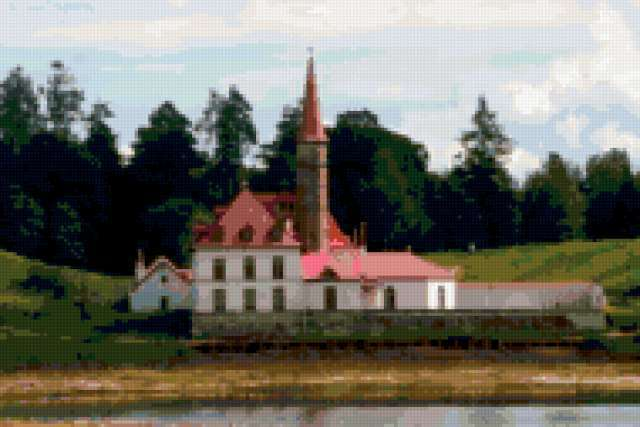 Приоратский дворец в Гатчине,