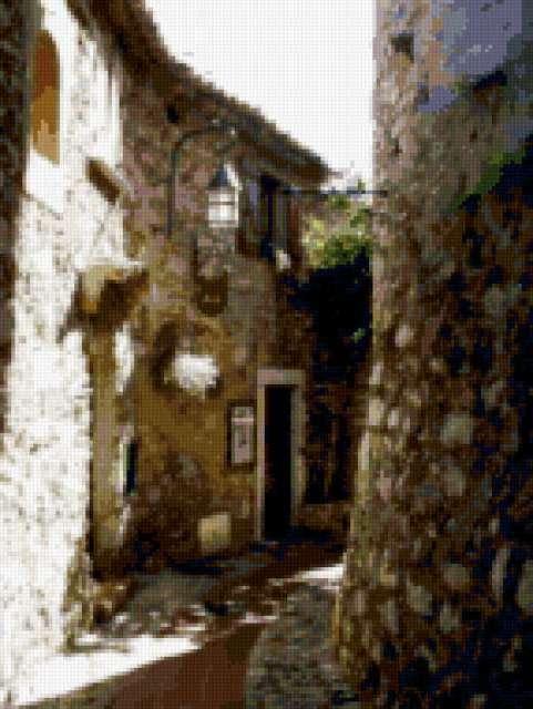 Деревня Эз Франция