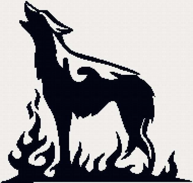 Волк в огне, предпросмотр