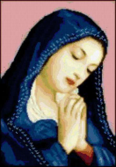 Молящаяся, религия, молитва