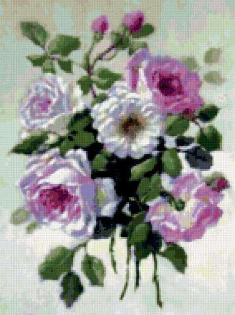 Старинные розы, предпросмотр