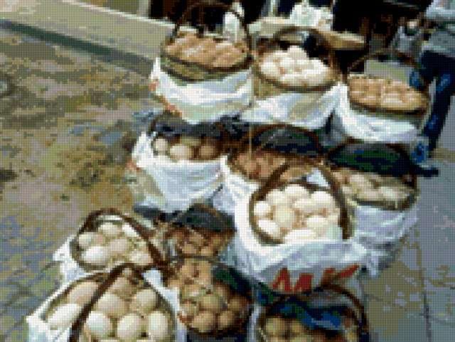 Повозка с яйцами в Стамбуле,