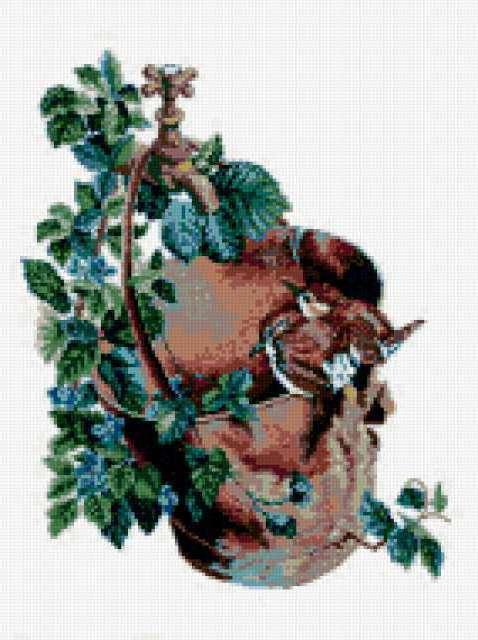 Ежевика и птицы, предпросмотр