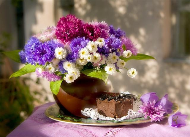 Шоколадный торт с панакотой фото 2