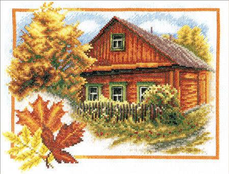 Деревенский пейзаж, пейзаж