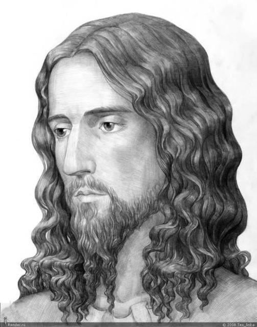 К схеме вышивки «Иисус» нет