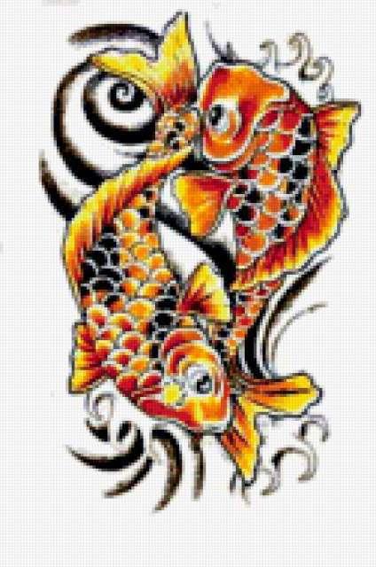 Золотые рыбки, рыбки