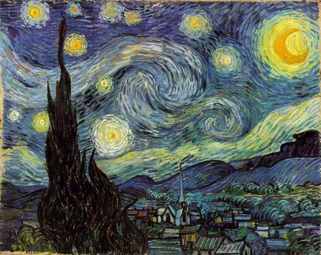 Звездное небо Ван Гога,