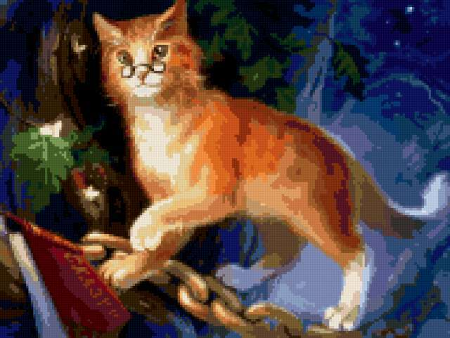 Кот ученый..., животное, котик