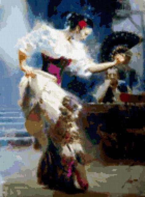Танец с веером, предпросмотр