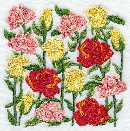 Подушка-розы, подушка, роза