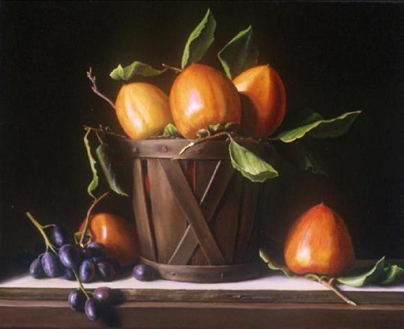 Хурма и виноград, оригинал