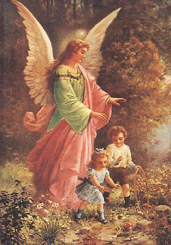 Ангел-хранитель, ангел, дети