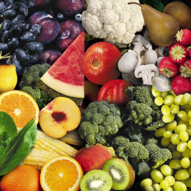 Фрукты и овощи, фрукты, овощи
