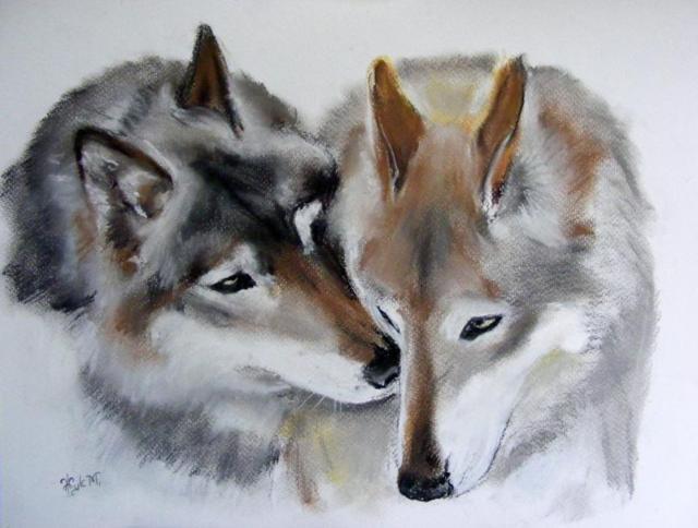 Нежность волков, оригинал