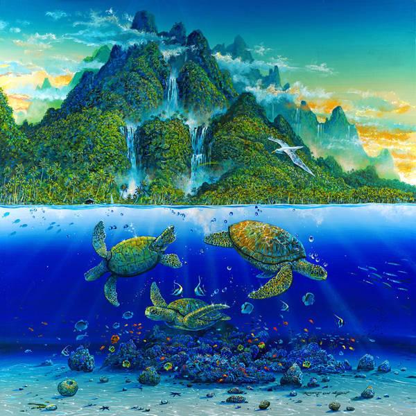 Подводный мир, море, пейзаж,
