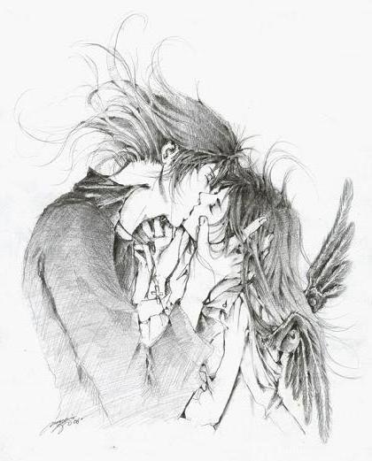 Поцелуй ангела, оригинал