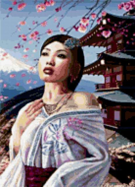 Японская девушка, предпросмотр