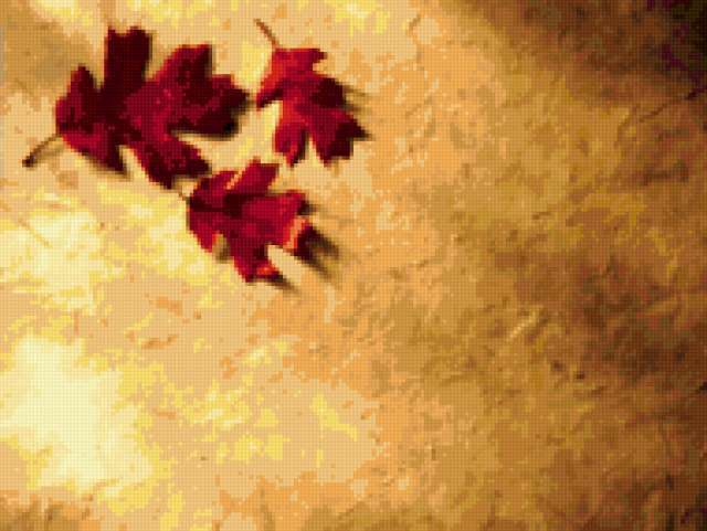 Подушка(кленовый лист)