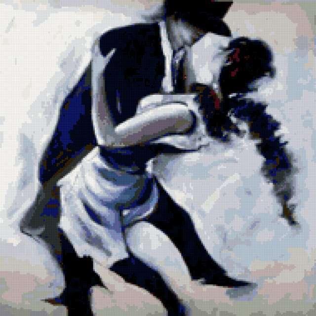 Пара в танце, предпросмотр