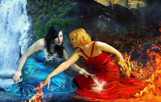 Огонь и вода..., оригинал