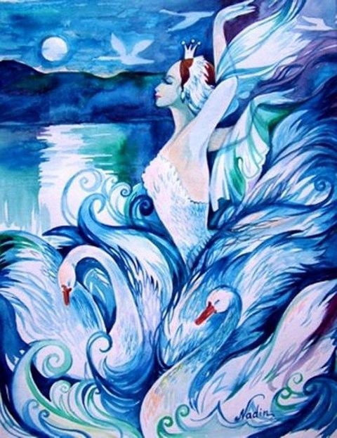 Царевна-лебедь, сказки