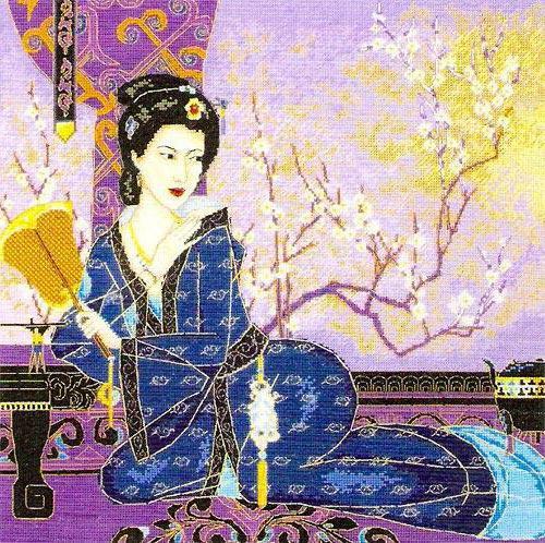 Японская девушка, оригинал