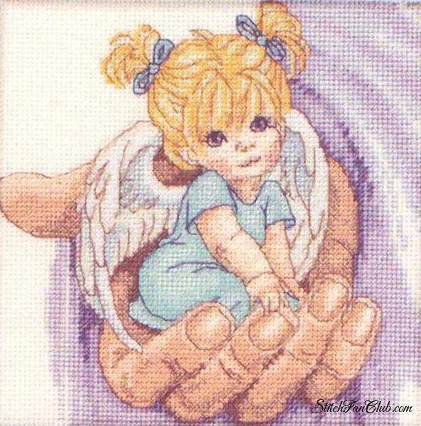 Ангел на ладошке, оригинал
