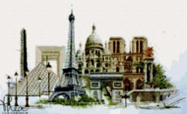 Города - Париж, предпросмотр