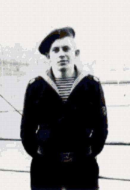 портрет, моряк, солдат