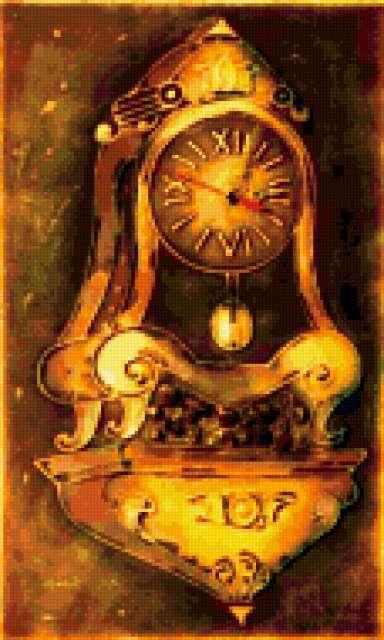 Настенные часы, предпросмотр