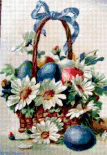 Пасхальный натюрморт, картина