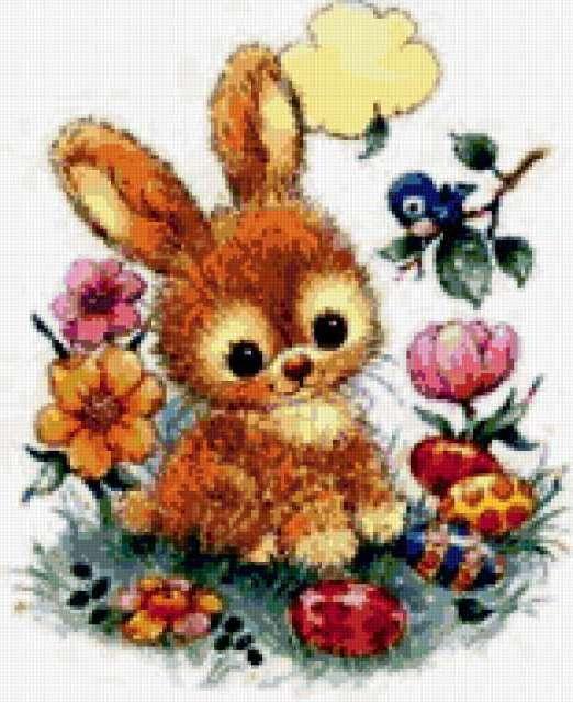 Пасхальный кролик, картина