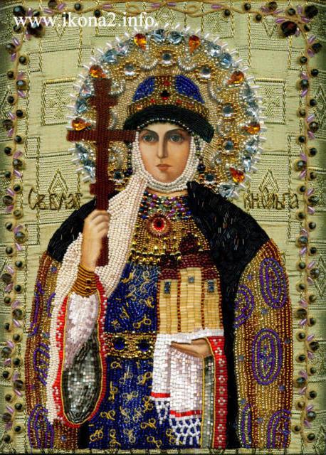 Святая Ольга, оригинал