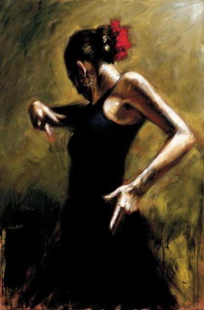Fabian Perez Кармен, живопись,
