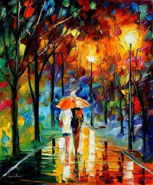 Двое, двое, любовь, прогулка,