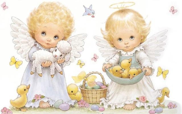 Ангелочки, оригинал