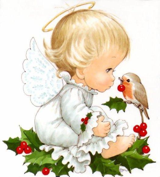 картинки ангелочков: