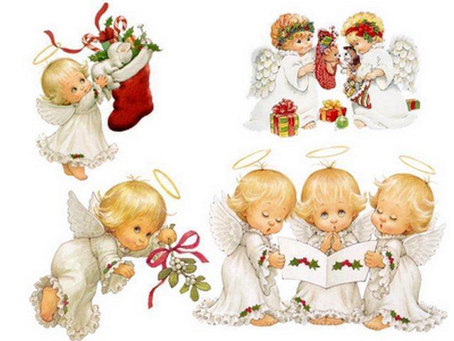 Ангелочки, ангелы, детям