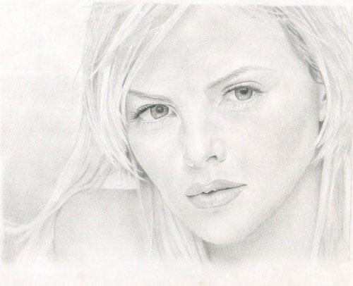 Рисунок, девушка, женщина