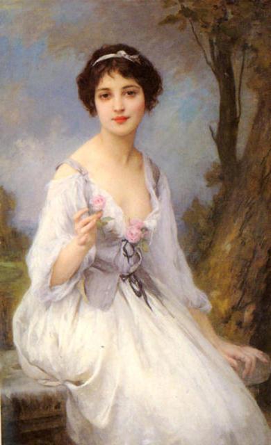 портрет женщины: