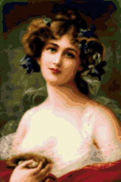 Женский портрет, предпросмотр
