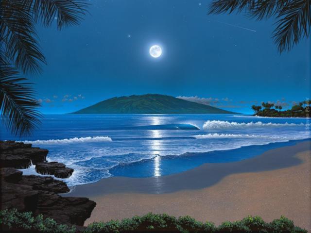 Тишина в ночи..., природа,